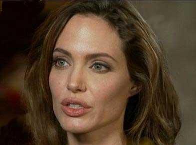 تصاویری از چهره بدون آرایش و واقعی آنجلینا جولی