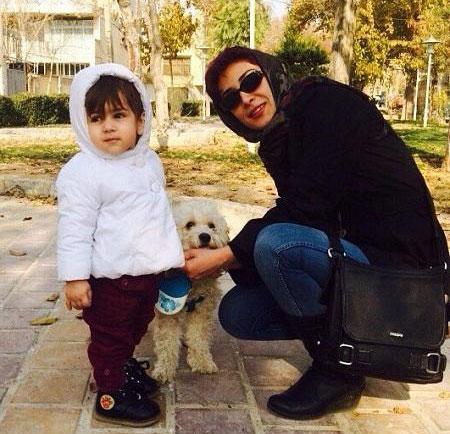 گفتگو با دختر امین تارخ در سریال جراحت و همسرش آرش مجیدی