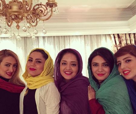 عکس بازیگران,بازیگران ایرانی,عکس های جشن تولد بازیگران