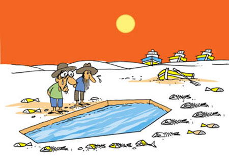 کاریکاتور در مورد آب,کاریکاتور صرفه جویی در مصرف آب