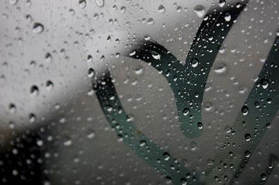 اس ام اس روزهای ابری و بارانی, اس ام اس عاشقانه با موضوع باران