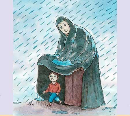 مطالب طنز و خنده دار, کاریکاتور روز مادر