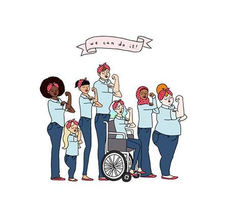 کاریکاتور و تصاویر طنز, روز جهانی دختر