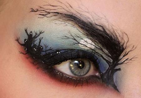 تصاویری از نقاشی روی چشم – مکس پیکس