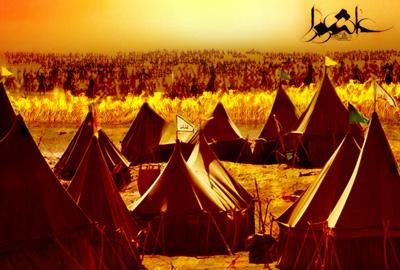 روز ورود امام حسین به کربلا, شعر ورود امام حسین به کربلا