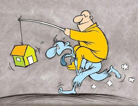 کاریکاتور افزایش قیمت مسکن, قیمت مسکن, افزایش قیمت مسکن