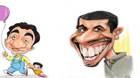 کاریکاتور بازیگران زن 95 و مرد ایرانی 1395