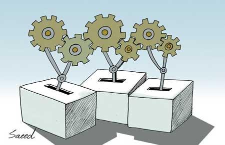 کاریکاتور انتخابات,انتخابات,حاشیه های انتخاباتی