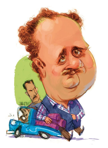 کاریکاتور,کاریکاتور هومن برق نورد