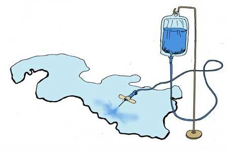 کاریکاتور,نجات دریاچه ارومیه