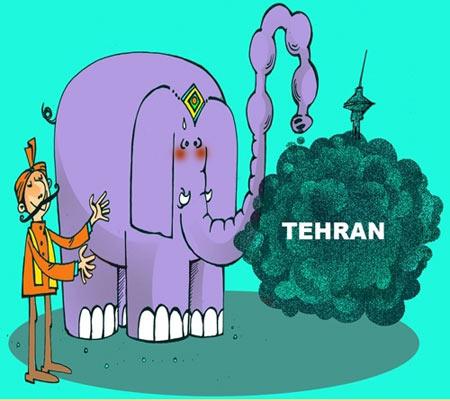 راهکار هندی ها برای رفع آلودگی تهران!