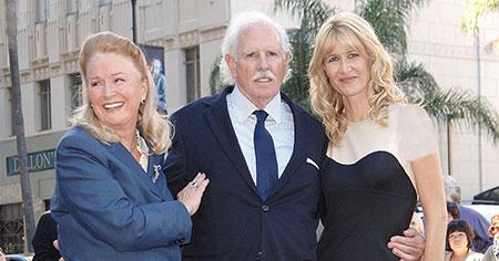 لورا درن, لورا درن برنده جایزه اسکار,عکس های پدر و مادر لورا درن