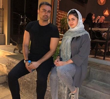 زندگی نامه مائده محمدی, مائده محمدی و همسرش, عکس های مائده محمدی