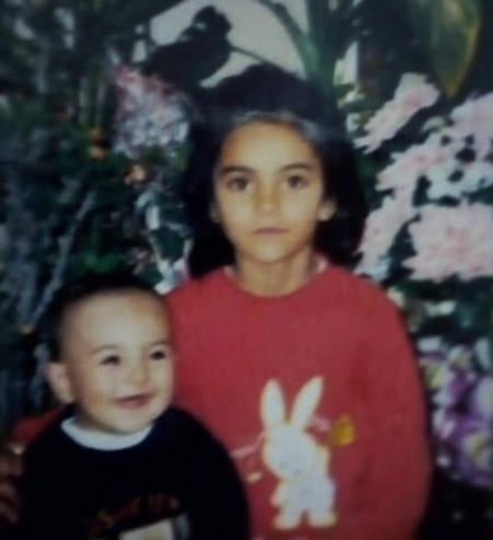 مهشید جوادی,زندگینامه با مهشید جوادی,عکس کودکی مهشید جوادی