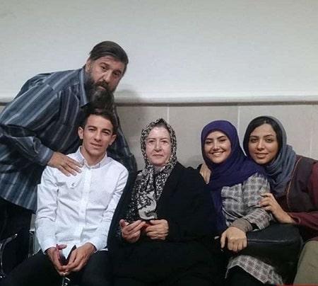 پروین ملکی و همسرش, بیوگرافی پروین ملکی, پروین ملکی به همراه پسرش