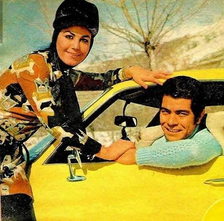 عکس پوری بنایی و همسرش, زندگی نامه پوری بنایی, پوری بنایی