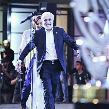 تصاویر سعید امیر سلیمانی, سعید امیر سلیمانی و همسرش, فیلم قدیمی سعید امیر سلیمانی