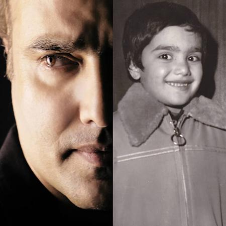بیوگرافی سعید داخ,سعید داخ,عکس کودکی سعید داخ
