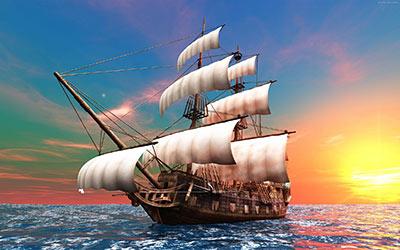 داستان کوتاه کشتی به گل نشسته