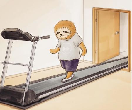 کارهای روزمره یک تنبل, خرس تنبل