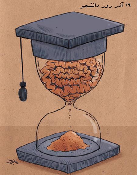 کاریکاتور درباره دانشجو, کاریکاتور خنده دار دانشجویی