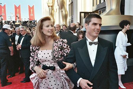 تام کروز,ازدواج تام کروز, تام کروز و همسرش میمی راجرز