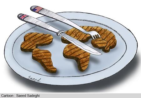 کاریکاتور روز غذا, کاریکاتور درباره روز غذا