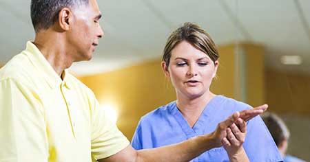 سندرم دست بیقرار, درمان سندرم دست بی قرار