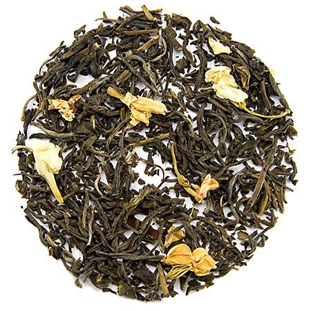 چای گل یاس, چای سبز با عطر گل یاس