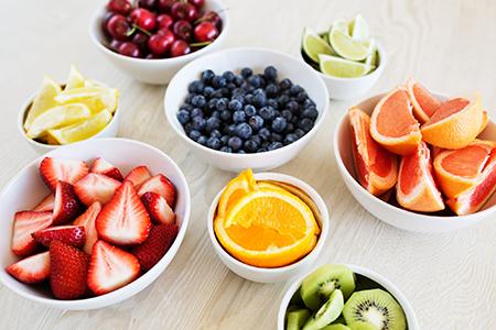 کالری سیب, کالری موجود در میوه ها