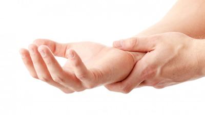 علل درد مچ دست, درد مچ دست ورم