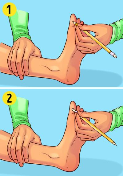 آزمایشات ساده, تست سلامت