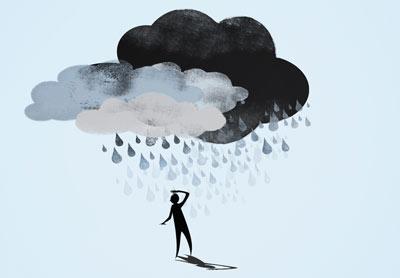افسردگی,درمان افسردگی به روش طب سنتی,درمان افسردگی
