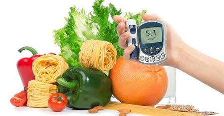 رژیم غذایی دیابت افراد چاق, رژیم غذایی دیابت نوع دوم