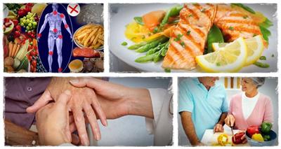 درمان بیماری آرتریت, غذاهای مضر برای آرتریت