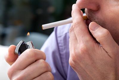ریه یک فرد سیگاری, ویژگی های افراد سیگاری