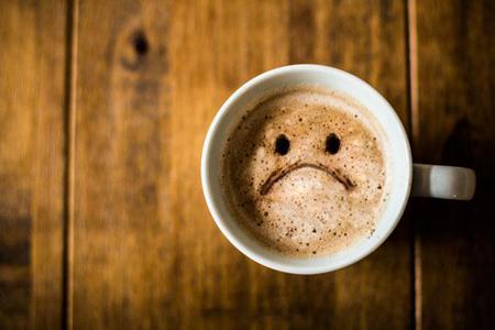 علایم  مصرف بیش از حد قهوه, نشانه مصرف بیش از حد قهوه