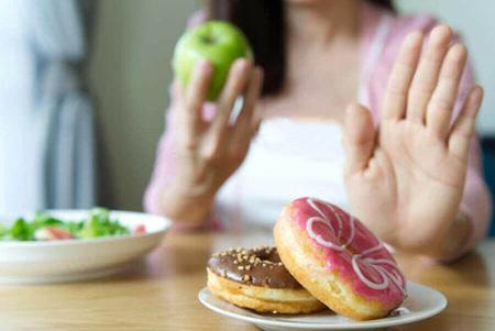 راههای کاهش اشتها,روشهای کاهش اشتها , جلوگیری غذا خوردن