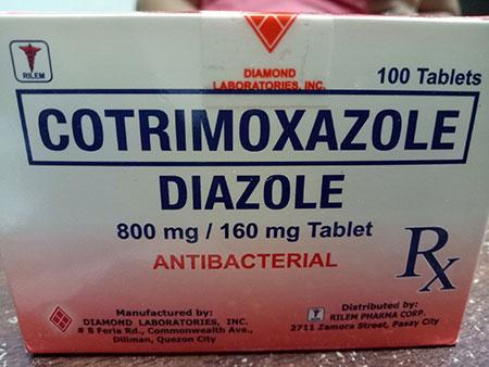 داروی کوتریموکسازول,کوتریموکسازول بزرگسال