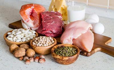 تغذیه سالم|۱۰ماده غذایی که چند برابر تخم مرغ پروتئین دارند