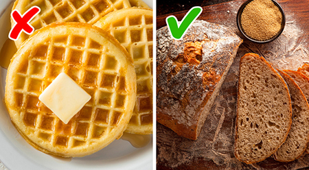 صبحانه کامل ، مواد غذایی سالم