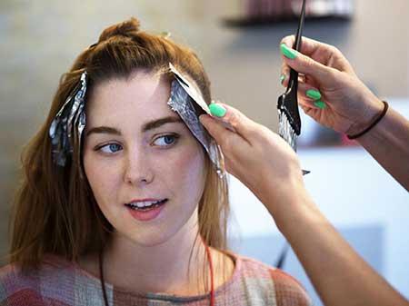 درمان خانگی حساسیت به رنگ مو, آلرژی به رنگ مو