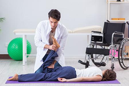 ماساژ, درمان بیماری, فیزیوتراپی