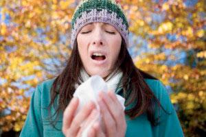 سرماخوردگی, سینوزیت, فصل پاییز