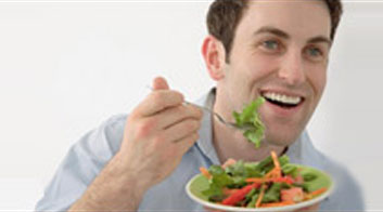 رژیم غذایی مردان, رژیم غذایی سالم