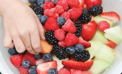 میزان مصرف میوه, راهنمای میزان مصرف هر نوع میوه
