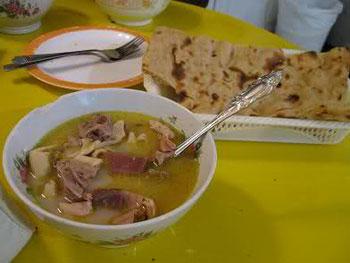 کلهپاچه, غذاهای سنتی, خواص کله پاچه