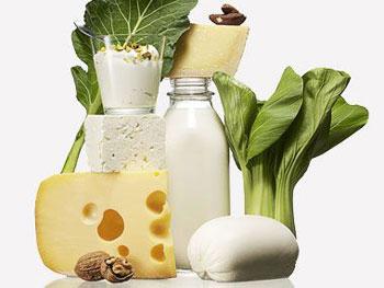 کلسیم,سبزیجات
