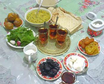 تشنگی در ماه رمضان,تغذیه سالم در ماه رمضان