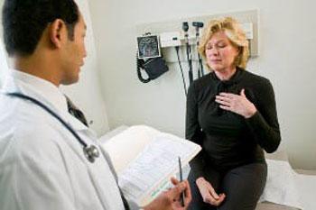 ریفلاکس اسید معده, بیماریهای قلبی و عروقی